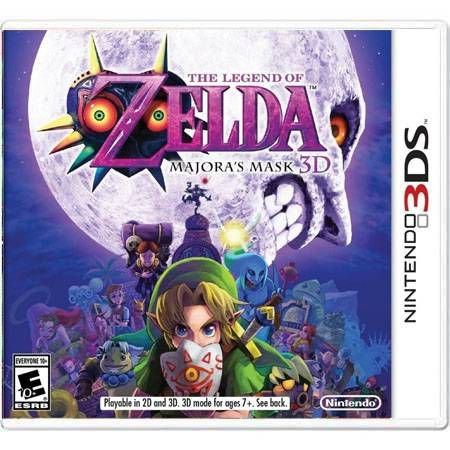 The Legend of Zelda Marjora's Mask 3D Seminovo – 3DS