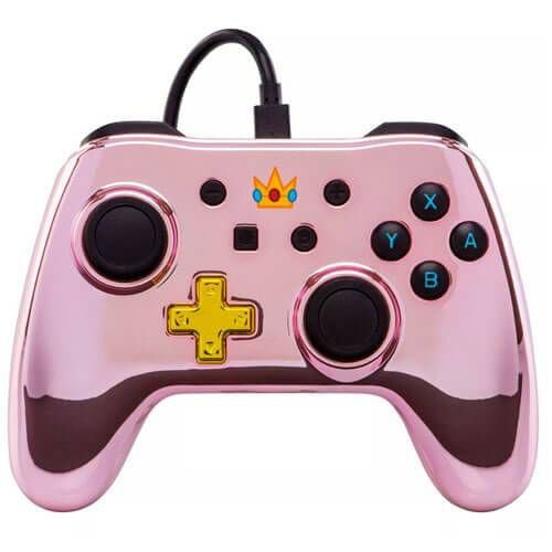 Controle Power A Chrome Peach – Nintendo Switch