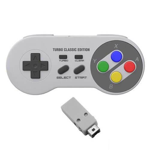 Controle Super Nintendo Sem Fio Turbo Edition – Nintendo