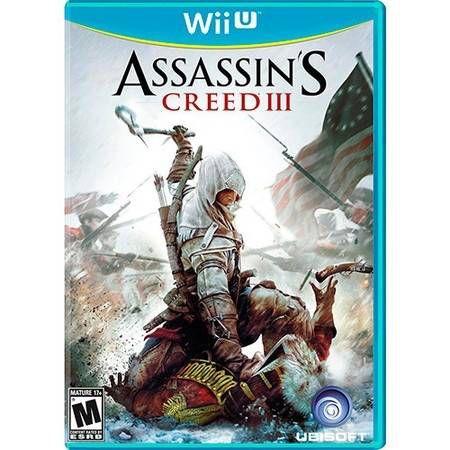 Assassin's Creed 3 Seminovo – Wii U