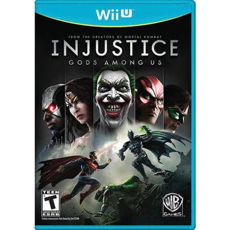 Injustice: Gods Amongus Seminovo – Wii U
