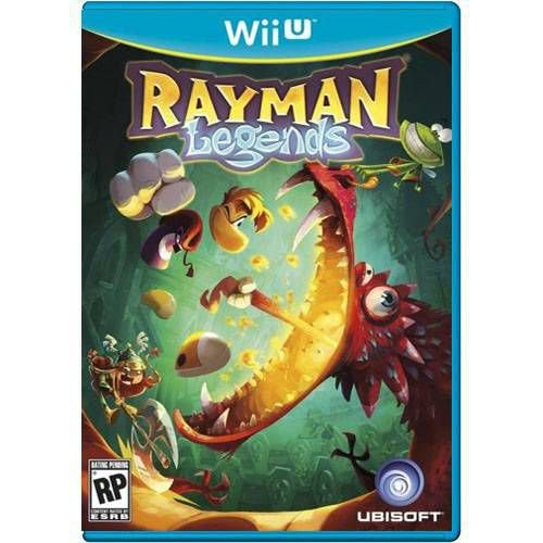 Rayman Legends Seminovo – WII U