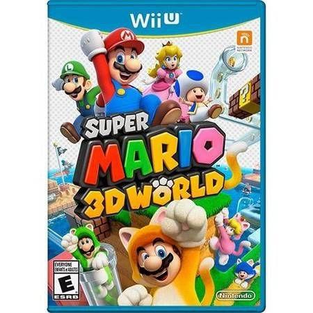 Super Mario 3D World Seminovo - Wii U
