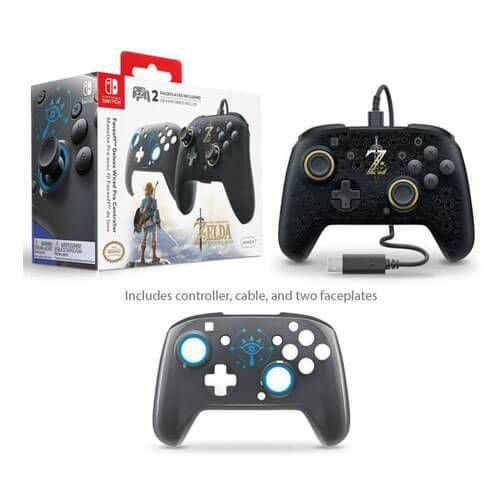 Controle Wired Pro Deluxe Faceoff PDP – Nintendo Switch
