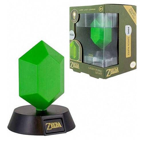 Luminária The Legend Of Zelda Green Rupee – Nintendo