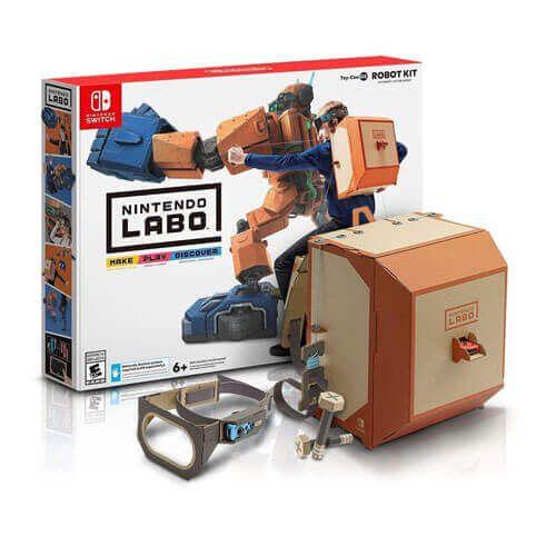 Nintendo Labo Robot Kit VR – Nintendo Switch