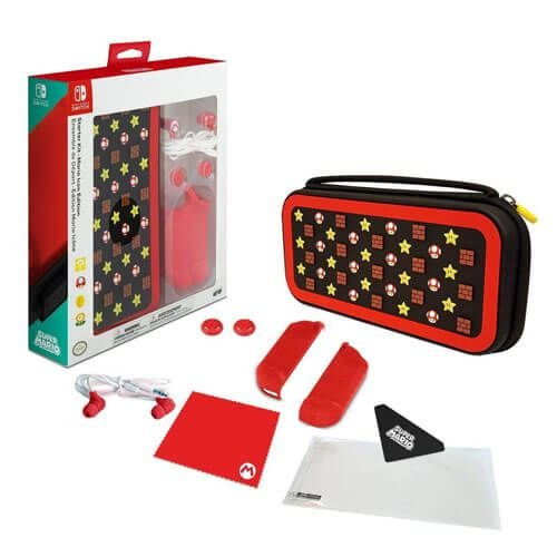 Starter Kit Case Mario Icon Edition Nintendo Switch