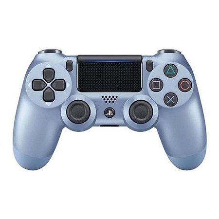 Controle Sem Fio – Dualshock 4 Azul Titanium (Titanium Blue) – PS4