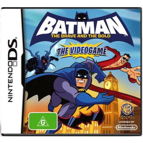 Batman The Brave And The Bold The Video Game Seminovo – DS