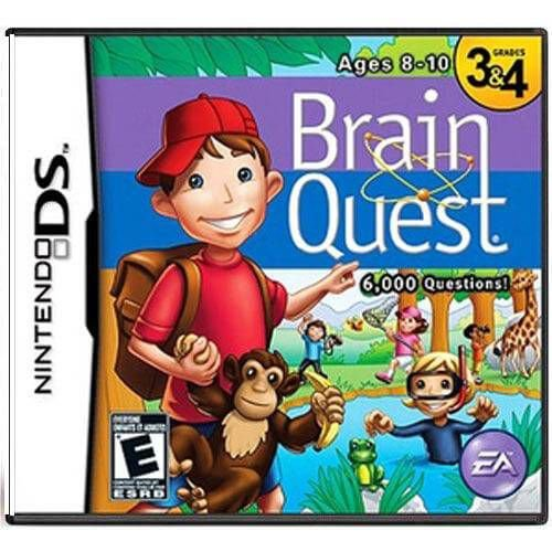 Brain Quest Ages 8 -10 Seminovo – DS