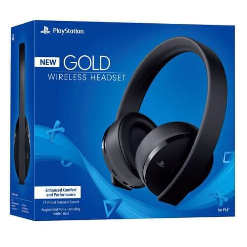 Headset Gold Wireless – PS4