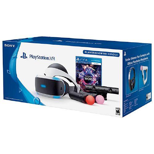 Óculos Playstation VR Bundle PlayStation Worlds CUH-ZVR2 – PS4