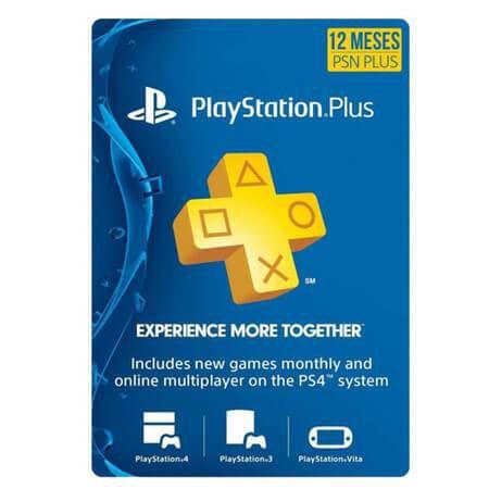 Playstation Plus – Assinatura de 12 Meses (PSN USA)