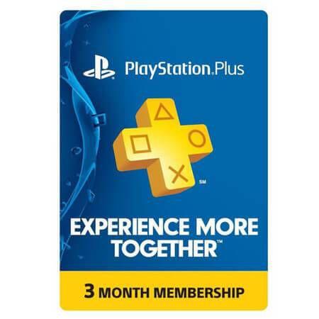 Playstation Plus – Assinatura de 3 Meses