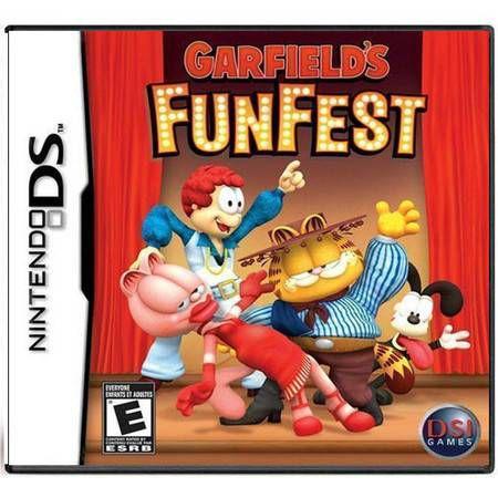 Garfield's Funfest Seminovo – DS