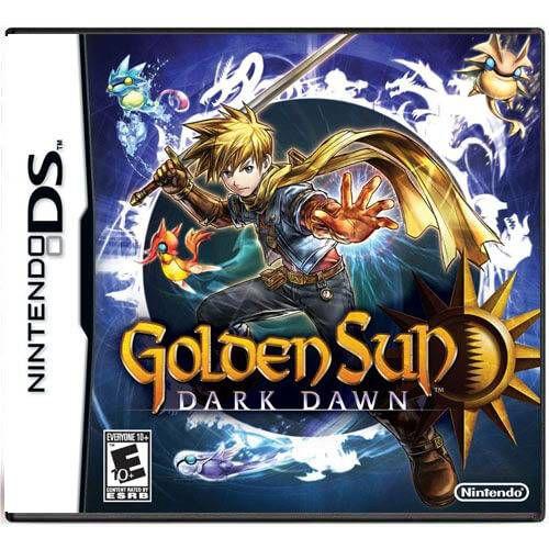 Golden Sun Dark Dawn Seminovo – DS