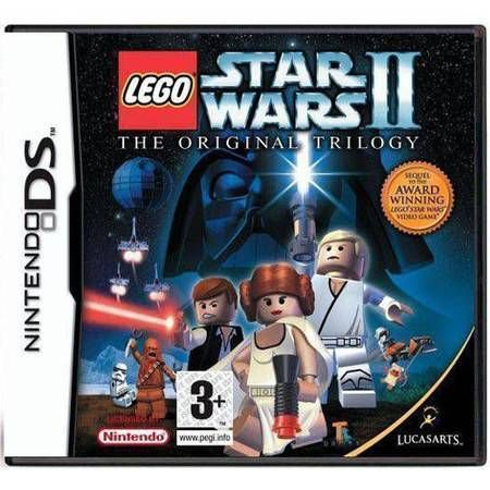 Lego Star Wars 2 La Trilogie Originale Seminovo PAL – DS