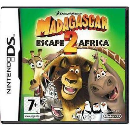 Madagascar 2 Escape Africa Semi-Novo – DS