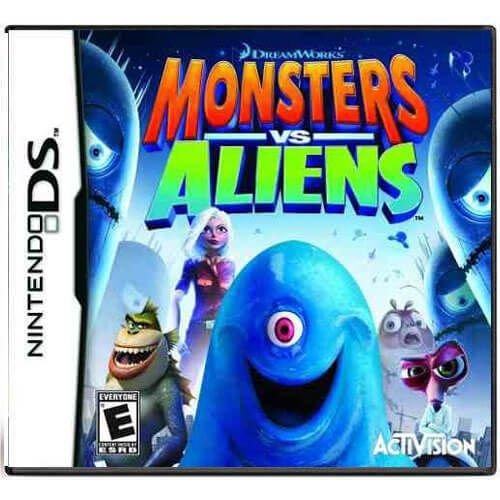 Monsters vs. Aliens Seminovo – DS
