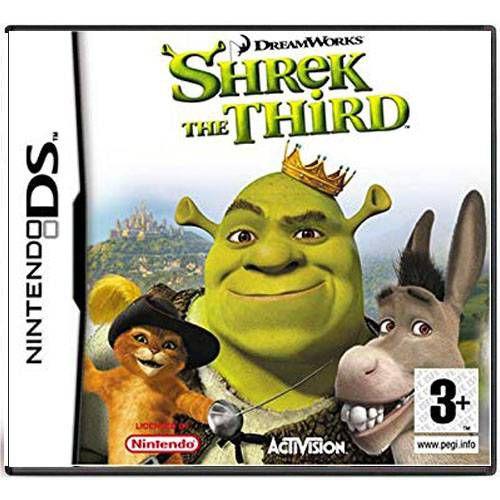 Shrek The Third Seminovo – DS
