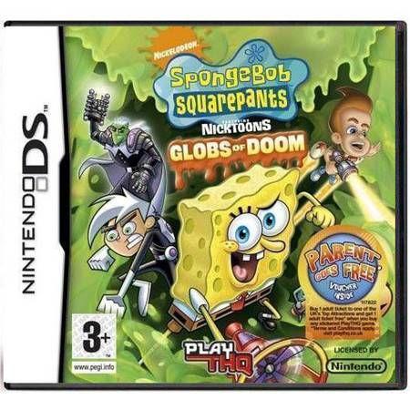 Sponge Bob Squarepants Globs Of Doom Seminovo – DS