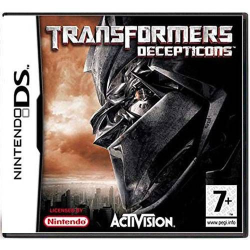 Transformers Decepticons Seminovo – DS