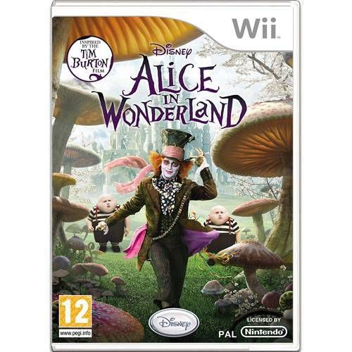 Alice In Wonderland Seminovo – Wii