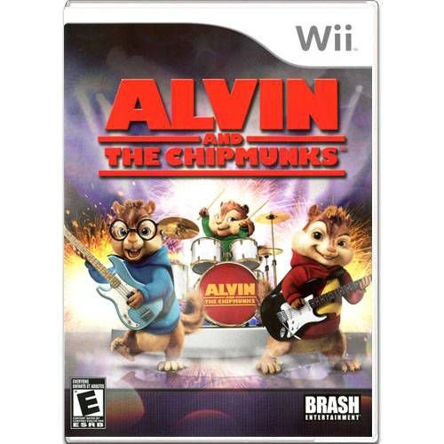 Alvin And The Chipmunks Seminovo – Wii
