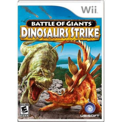 Battle Of Giants Dinosaurs Strike Seminovo – Wii