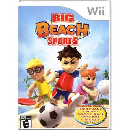 Big Beach Sports Seminovo – Wii