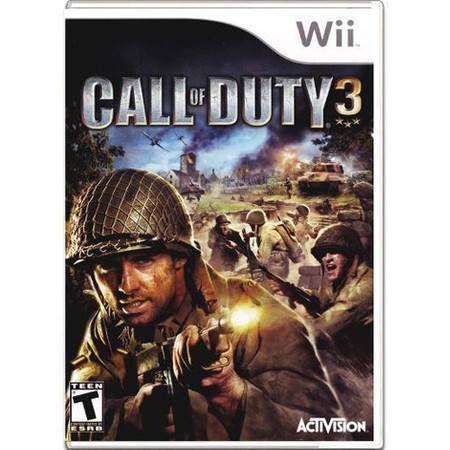 Call Of Duty 3 Seminovo – Wii