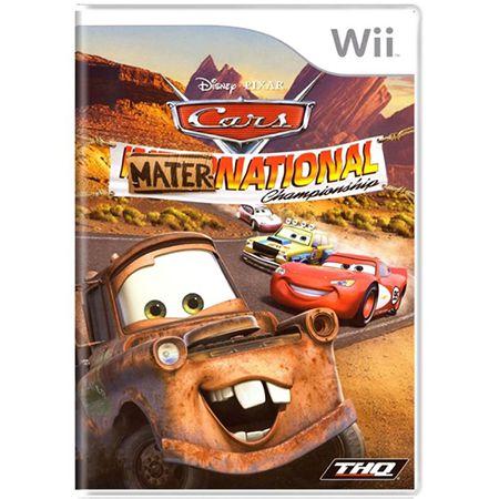 Cars Mater-National Seminovo – Wii