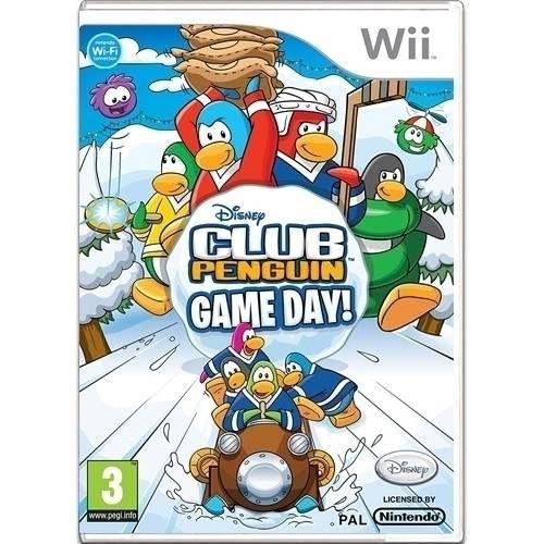 Club Penguin Game Day Seminovo – Wii