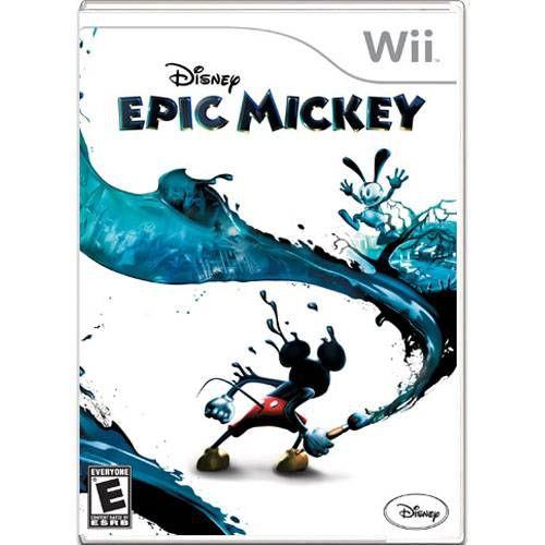 Epic Mickey Seminovo – Wii