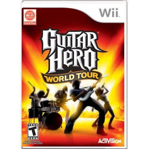 Guitar Hero World Tour Seminovo – Wii