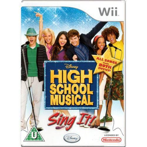 High School Musical Sing It Seminovo – Wii