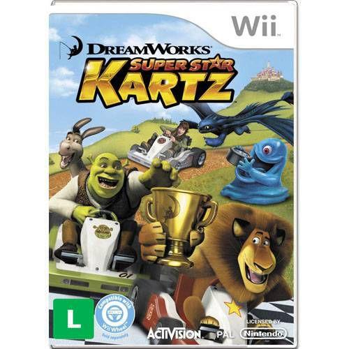 Kartz Super Star Seminovo – Wii