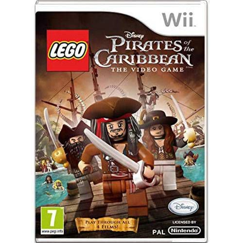 Lego Pirates Of The Caribbean The Video Game Seminovo – Wii