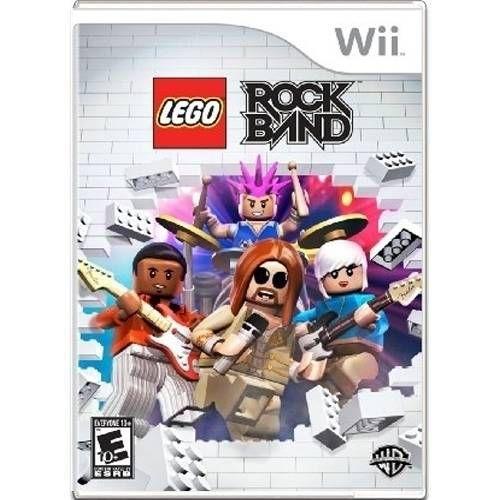 Lego RockBand Seminovo – Wii