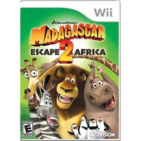 Madagascar 2 Escape Africa Seminovo – Wii