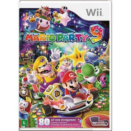 Mario Party 9 Seminovo – Wii