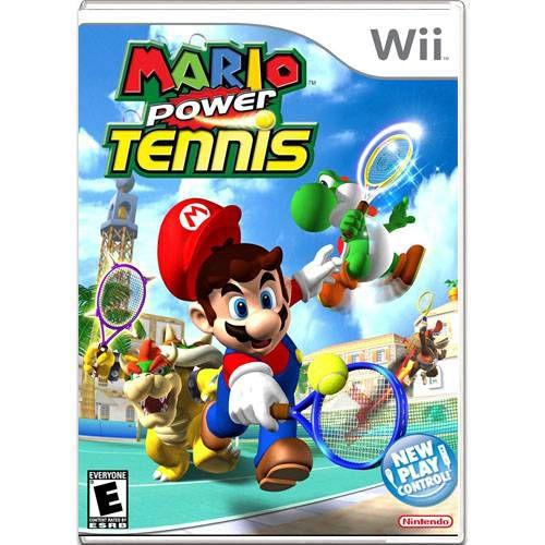 Mario Power Tennis Seminovo – Wii