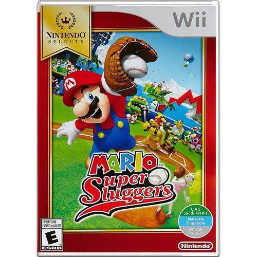 Mario Super Sluggers Seminovo – Wii