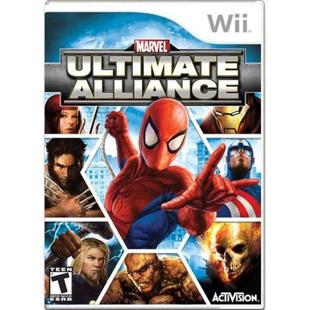 Marvel Ultimate Alliance Seminovo – Wii