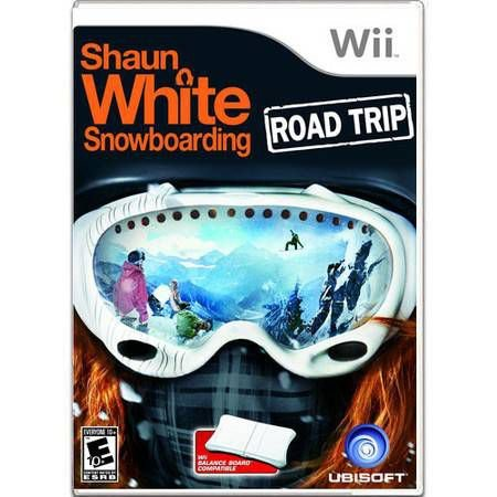 Shaun White Snowboarding Road Trip Seminovo PAL – Wii