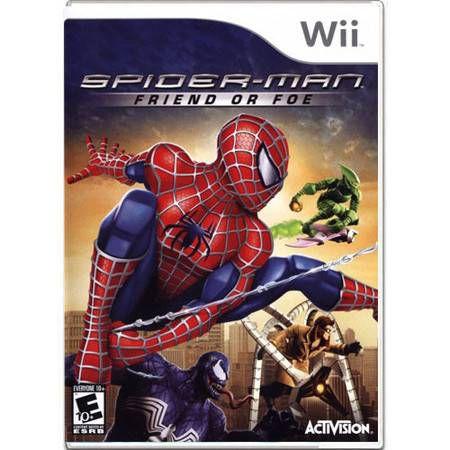 Spider-Man Friend Or Foe Seminovo – Wii