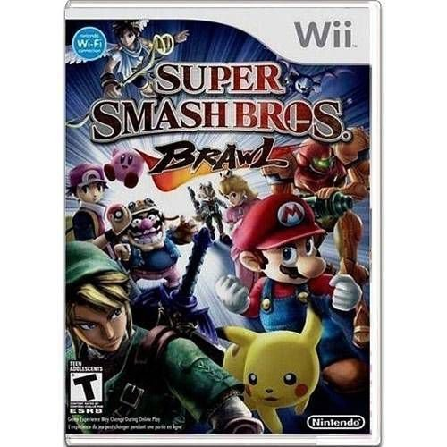 Super Smash Bros Brawl Seminovo – Wii