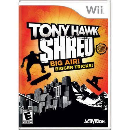 Tony Hawk Shred Big Air! Bigger Tricks! Seminovo – Wii