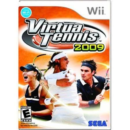 Virtua Tennis 2009 Seminovo – Wii