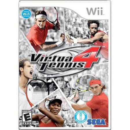 Virtua Tennis 4 Seminovo – Wii